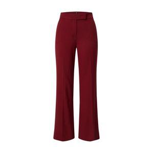 Riani Kalhoty s puky  karmínově červené