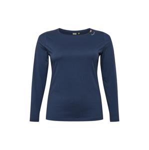 Ragwear Plus Mikina 'FLORAH'  námořnická modř