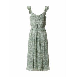 VILA Letní šaty 'Daisy'  offwhite / mátová