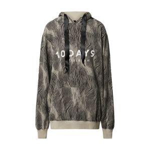 10Days Mikina s kapucí  khaki