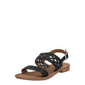 SPM Sandály 'Sandy'  béžová / černá