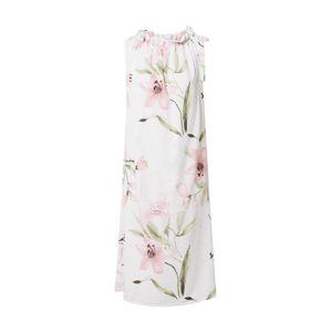 ZABAIONE Letní šaty 'Dilari'  pink / bílá / světle zelená