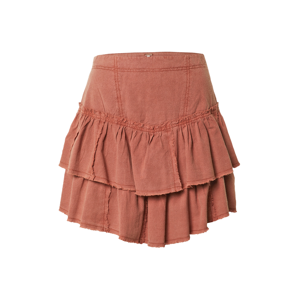 Free People Sukně 'RUFFLES IN THE SAND'  humrová