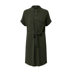 Dorothy Perkins Šaty 'WOVEN SHIRT DRESS'  khaki