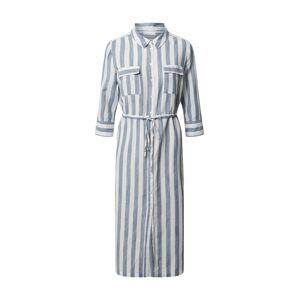 OPUS Košilové šaty 'Weife'  bílá / chladná modrá