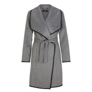 s.Oliver BLACK LABEL Přechodný kabát  šedý melír