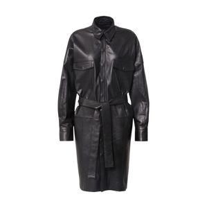 RAIINE Košilové šaty 'Denton'  černá