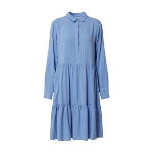 MOSS COPENHAGEN Košilové šaty 'Karolina'  modrá