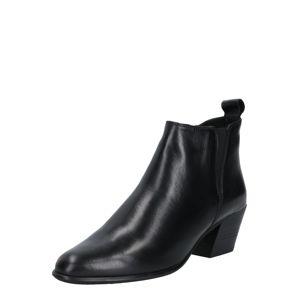 Steven New York Kotníkové boty 'Addison'  černá