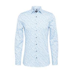 OLYMP Košile  nebeská modř / nefritová / bílá / modrá