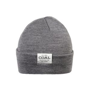 Coal Čepice  šedý melír