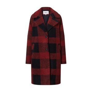 ONLY Přechodný kabát 'VICKI'  červenofialová / noční modrá