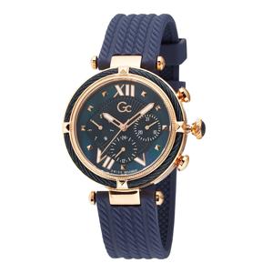 Gc Analogové hodinky  zlatá / modrá