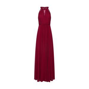 mascara Společenské šaty 'LACE INSET'  vínově červená